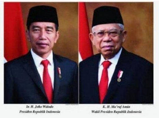 Nama Menteri Kabinet Jokowi-Ma;ruf Amin Periode 2019-2024