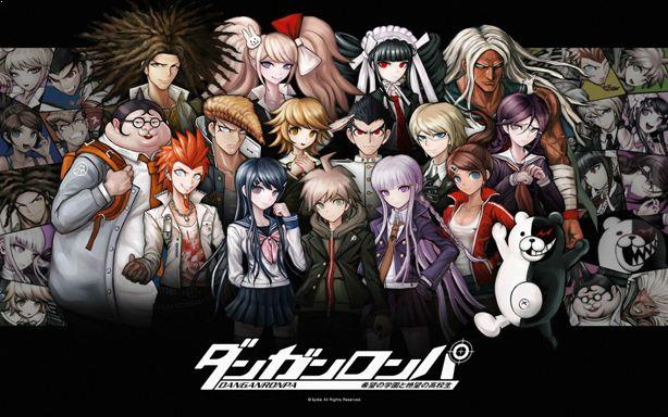 Danganronpa: The Animation - Anime Mirip Classroom of The Elite