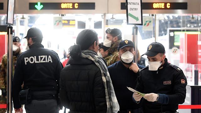 Italia declara todo su territorio como 'zona roja', ordena evitar todos los desplazamientos y las concentraciones por el coronavirus