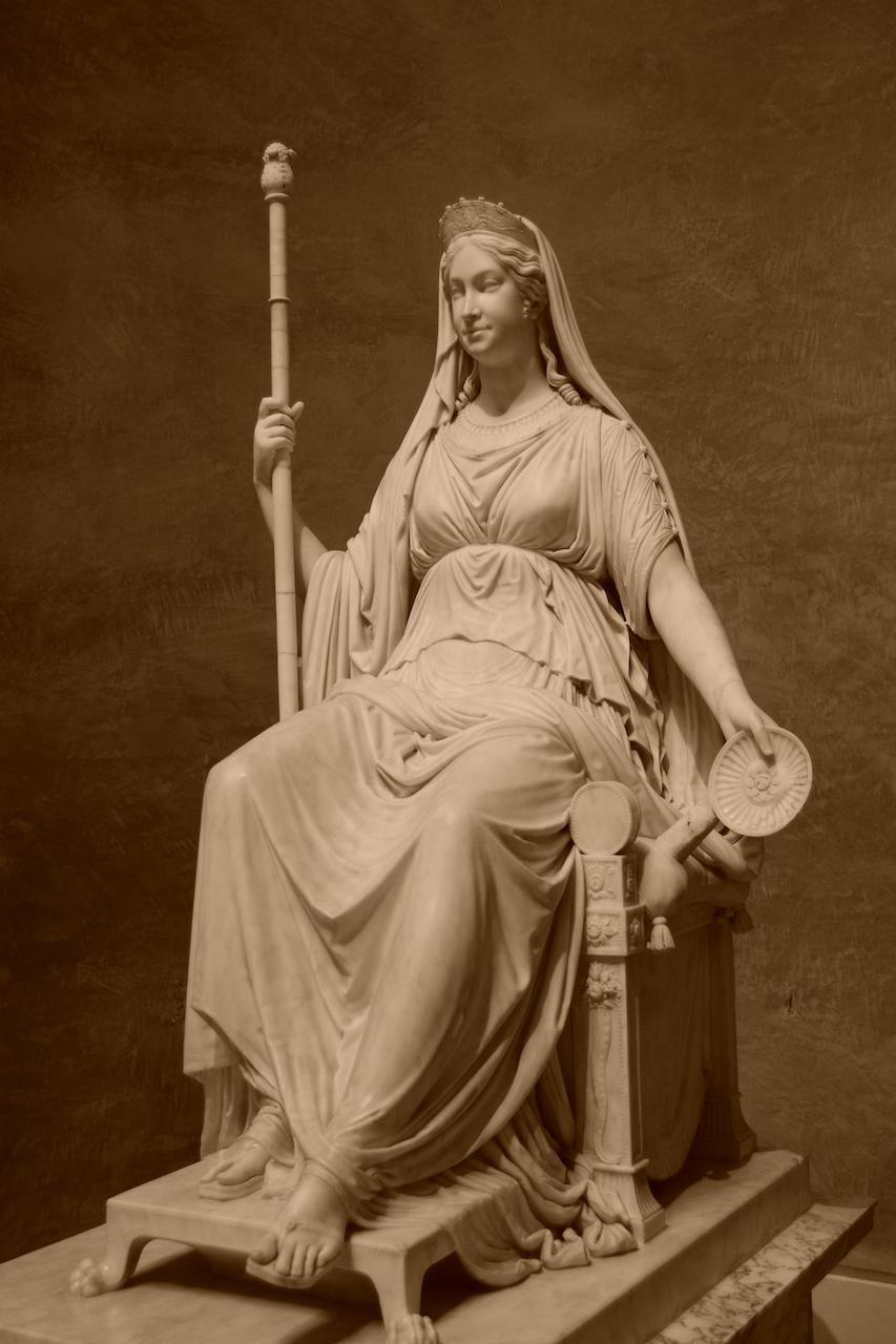 Portrait de Marie Louise d'Autriche en robe de Concordia