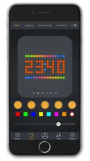 Divoom App Clock
