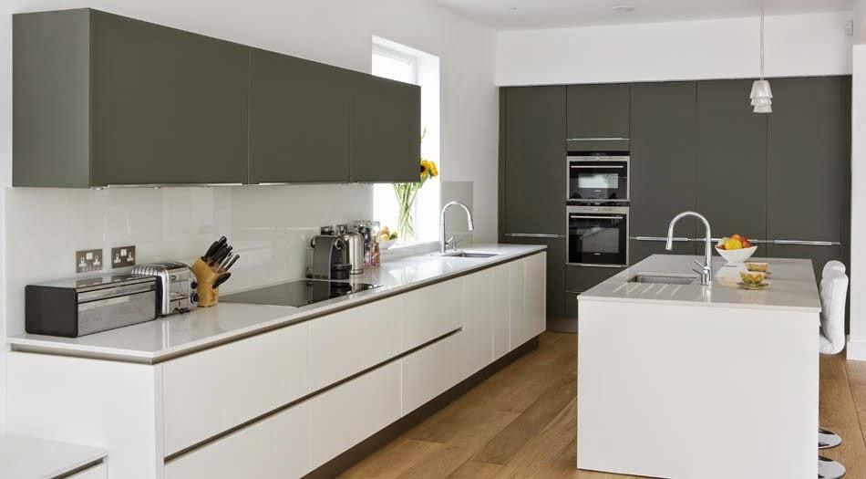 Marzua soluciones de vidrio para la pared frontal de la - Revestimientos para cocinas ...