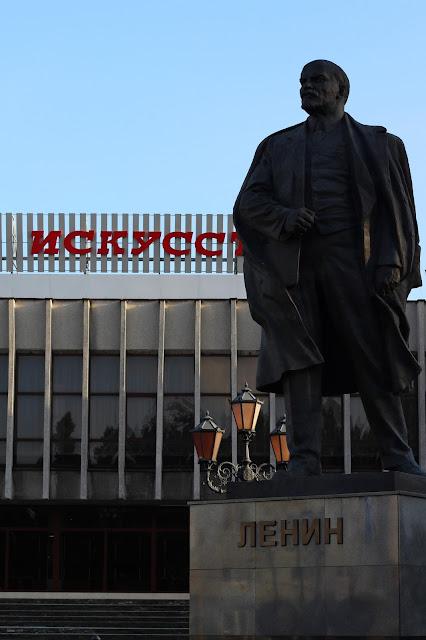 posąg Lenina
