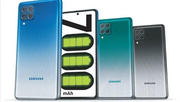 Samsung Galaxy M62, Smartphone Battery 7000mAH