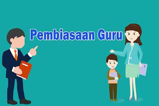 Pembiasaan Guru Indonesia