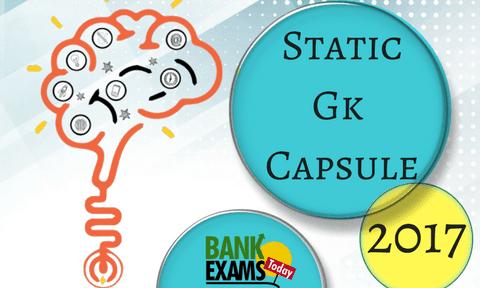 static gk pdf