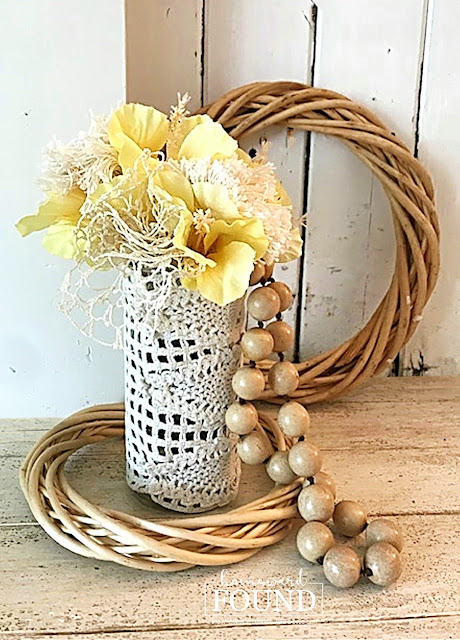 coastal style,beach style,entertaining,decorating,weekend makeover,diy decorating,summer,re-purposing,white,DIY,vintage style,boho style,neutrals,vintage,dollar store crafts,flowers,summer home decor, boho home decor, boho crafts, boho diy.