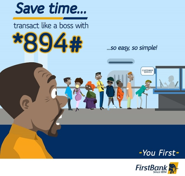 First Bank Transfer Code | Transfer Money With *894# On FirstBank Nigeria