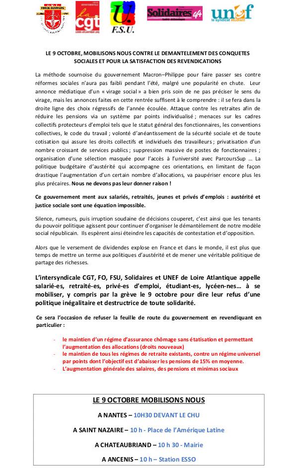 265e214924f FO - Loire Atlantique  Le 9 octobre 2018