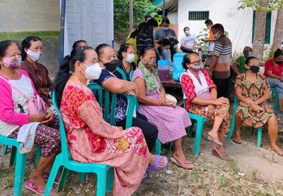 Babinsa Koramil 1012-12/ Tabak Kanilan pantau giat posyandu Lansia