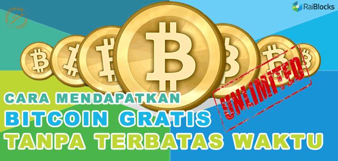 Cara Mendapatkan Bitcoin Gratis Unlimited Tanpa Terbatas Waktu