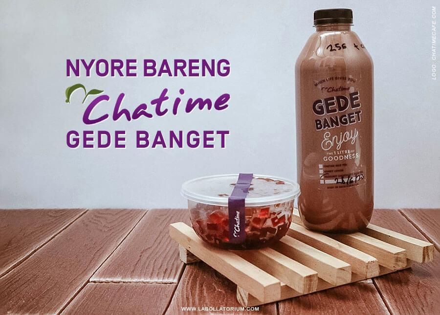 Chatime Gede Banget 1 Liter Seger dan Nikmatnya Puas Banget!