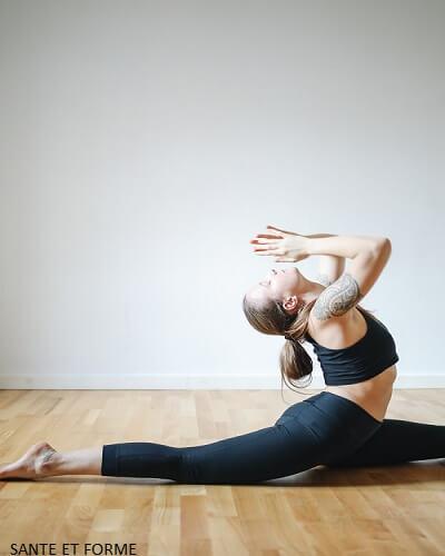 Yoga Power débutant Best Of 5 Postures.