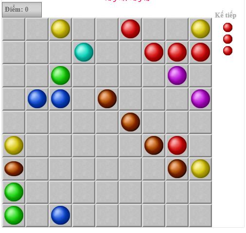 Line 98 online - Chơi game Line 98 màn hình rộng cũ cực hay c