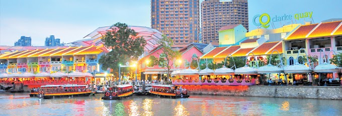 Check-In HOT Places In The Marina Bay Singapore