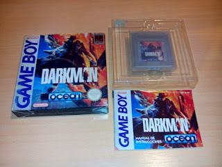 Darkman Game Boy PAL