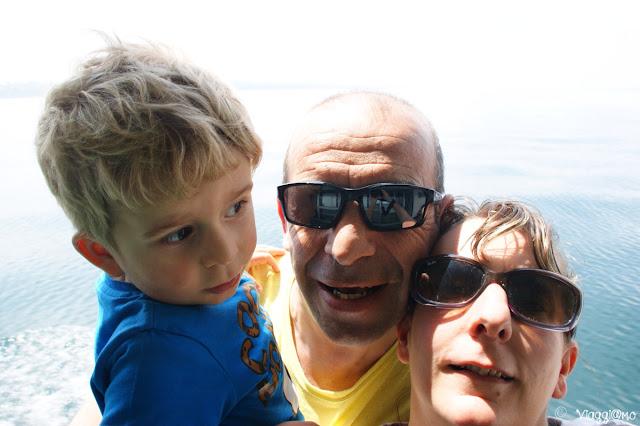 Noi tre di ViaggiamoHg a Lazise
