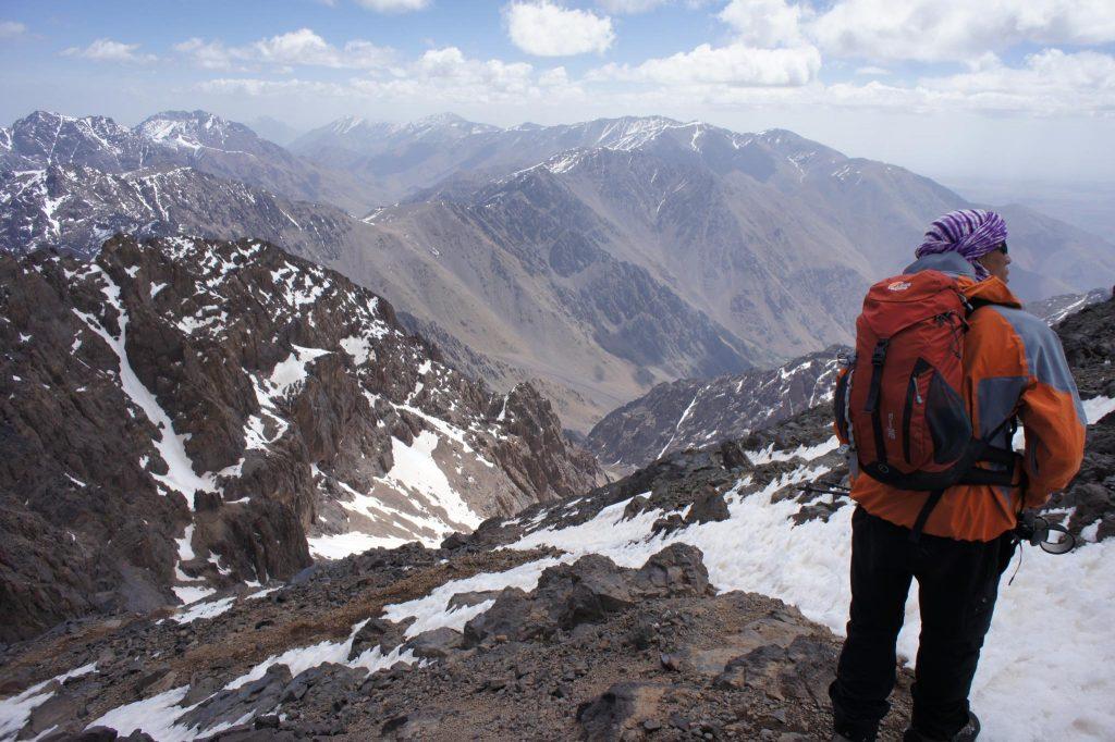 Восхождение на гору Тубкаль в Марокко
