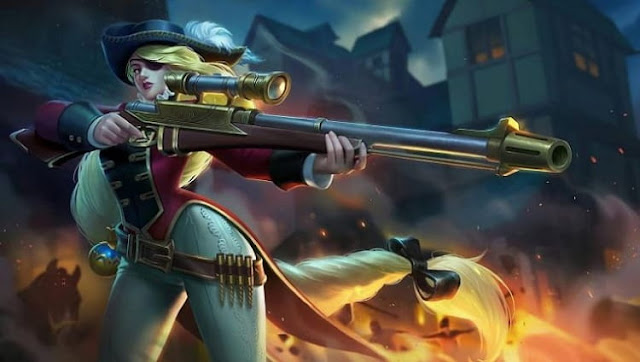 Royal Musketeer, Skin Lesley Di Mobile Legends (ML) Terbaik