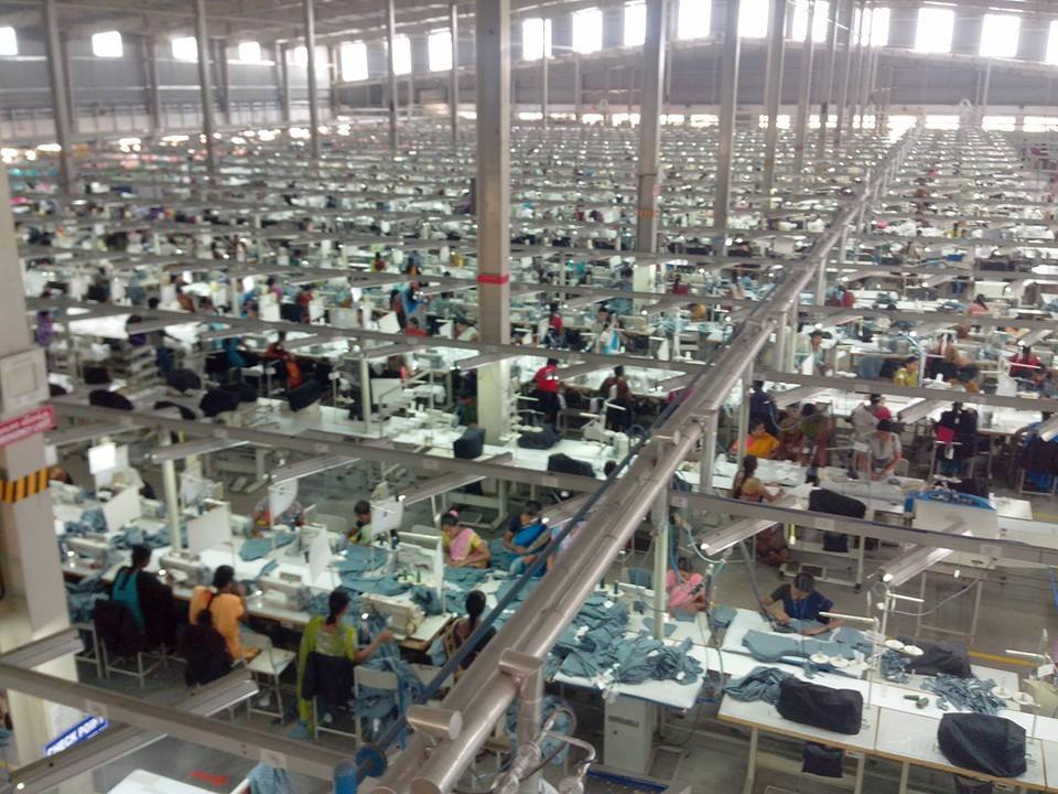 garment making factory