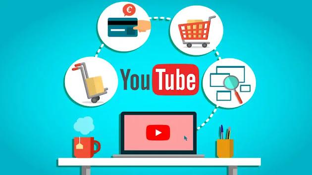 موقع YouTube يتحول الي متجر إلكتروني