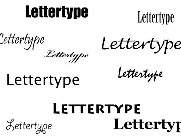 Creatief bezig zijn | Hoe ik kijk naar lettertypes