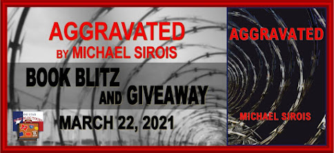 Aggravated book blog tour promotion banner