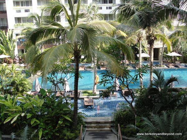 pool at Swiss-Belresort Watu Jimbar in Sanur, Bali, Indonesia