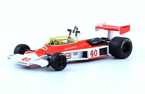McLaren M23 1977 Gilles Villeneuve f1 the car collection