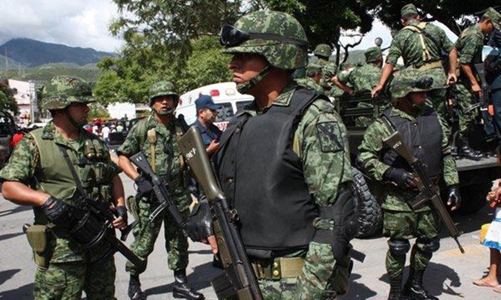 Militares Reciben 40 Pesos Diarios Como Incentivo Para Combatir Crimen Organizado