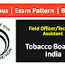 Field Officer / Technical Assistant   Exam Pattern, Syllabus, Recommended Books