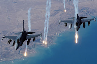Pesawat Tempur Arab Saudi Gempur Posisi Syiah Houthi di Yaman
