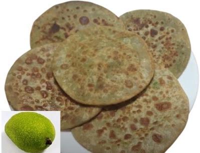 Kacche Aam ka Paratha recipe