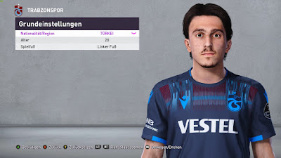 PES 2020 Faces Abdulkadir Ömür by Furkan6141