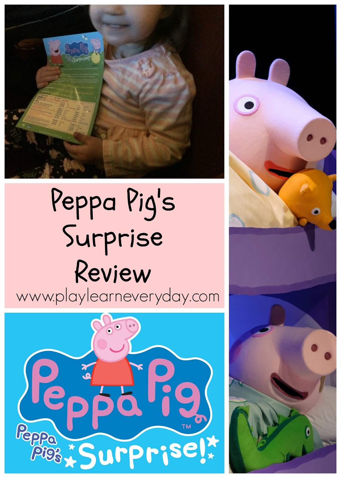 Peppa Pig S Surprise Review Play And Learn Every Day