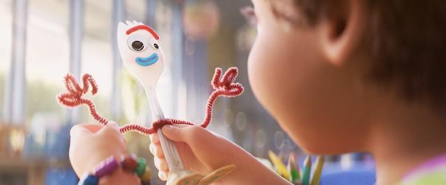 Toy Story 4 Bonnie Creates Forky Screencap
