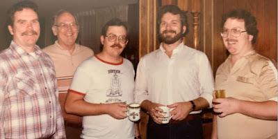 Jim, Albert, Roger, Bob, Dave Burdick early to mid-1980's