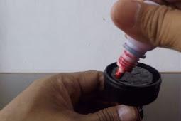 Perhatikan Ini Cara mengisi tinta stempel Flash Sendiri dirumah