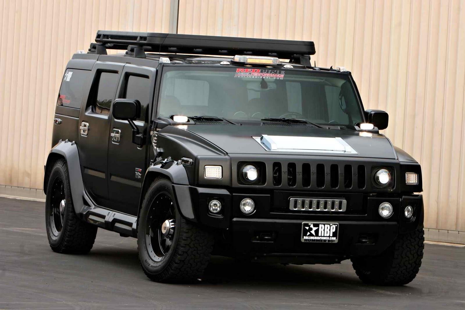 Mobil Hummer 2012