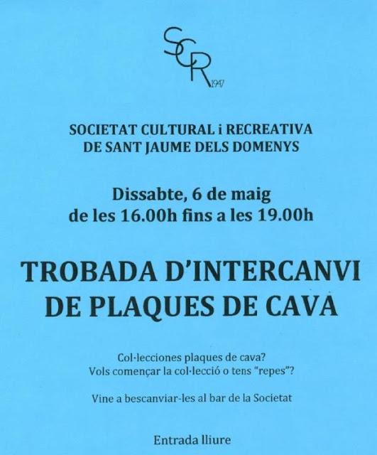 Esguard de Dona - Trobada Intercanvi Plaques de Cava - SRC -  maig 2017