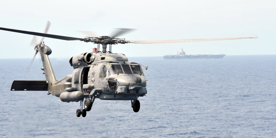 В 60 милях від узбережжя Каліфорнії  зазнав аварії  гелікоптер MH-60S ВМС США