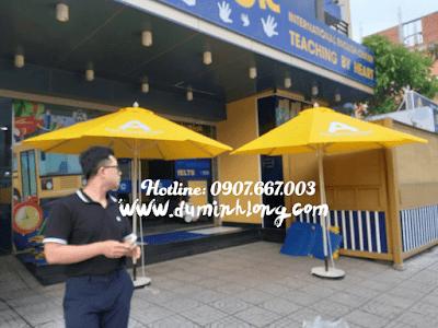 Bán dù tròn 3m che nắng cho quán cà phê, cửa hàng Phan Thiết, Bình Thuận