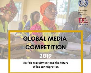 International Labour Organization (ILO) 2019 Global Media Competition on Labour Migration | Fully Funded Fellowship to ITC-Turin in Italy and $1,000