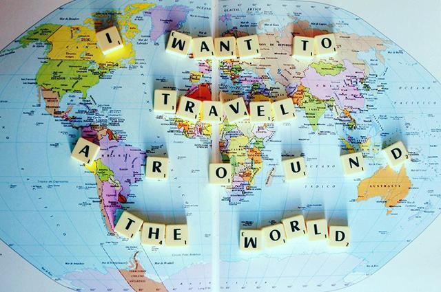 Sonho de conhecer o mundo