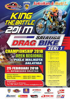 Salatiga Open Drag Bike Seri 1 2018