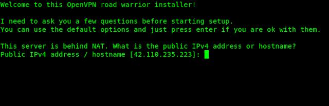 openvopn installer kali linux