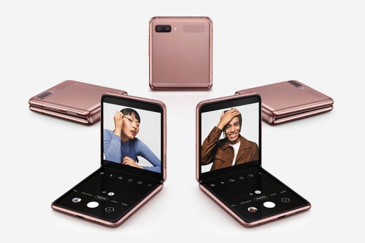 Samsung Galaxy Z Flip, Ponsel Layar Lipat dengan Spesifikasi Gahar Harga 20 Jutaan