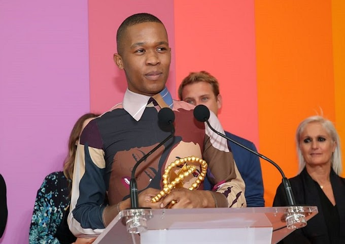 SA's Thebe Magugu becomes first designer from Africa to win prestigious LMVH fashion award, gets $331,000