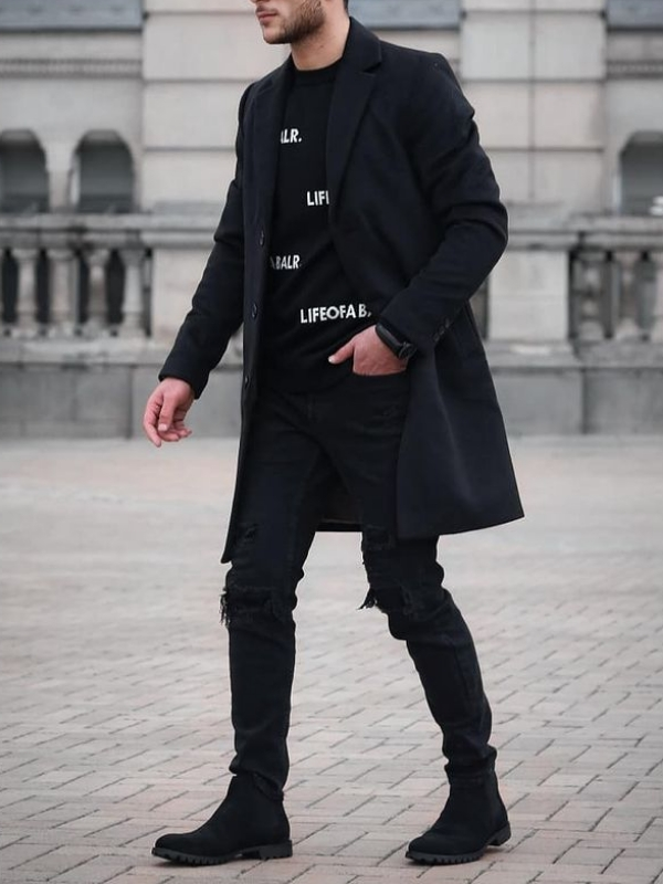 Tone on Tone Outfit ideas, men