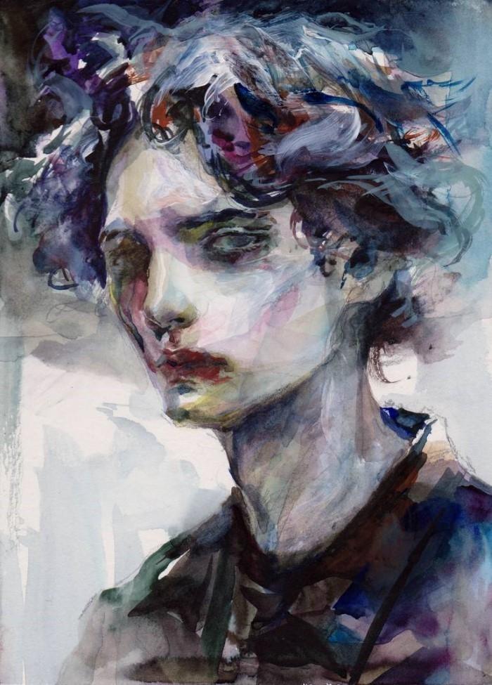 Корейский художник.